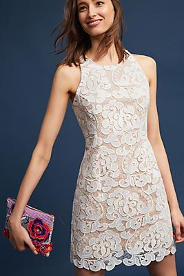 Slide View: 1: Edynne Lace Sheath Dress