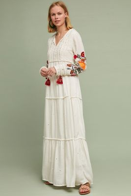 Winsome Maxi Dress by Anthropologie