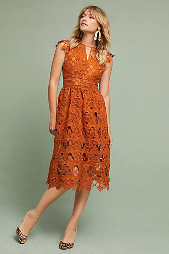 Annika Lace Dress