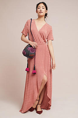 Slide View: 1: Natasha Wrap Dress
