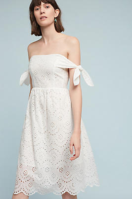 Slide View: 1: Concerta Off-The-Shoulder Dress