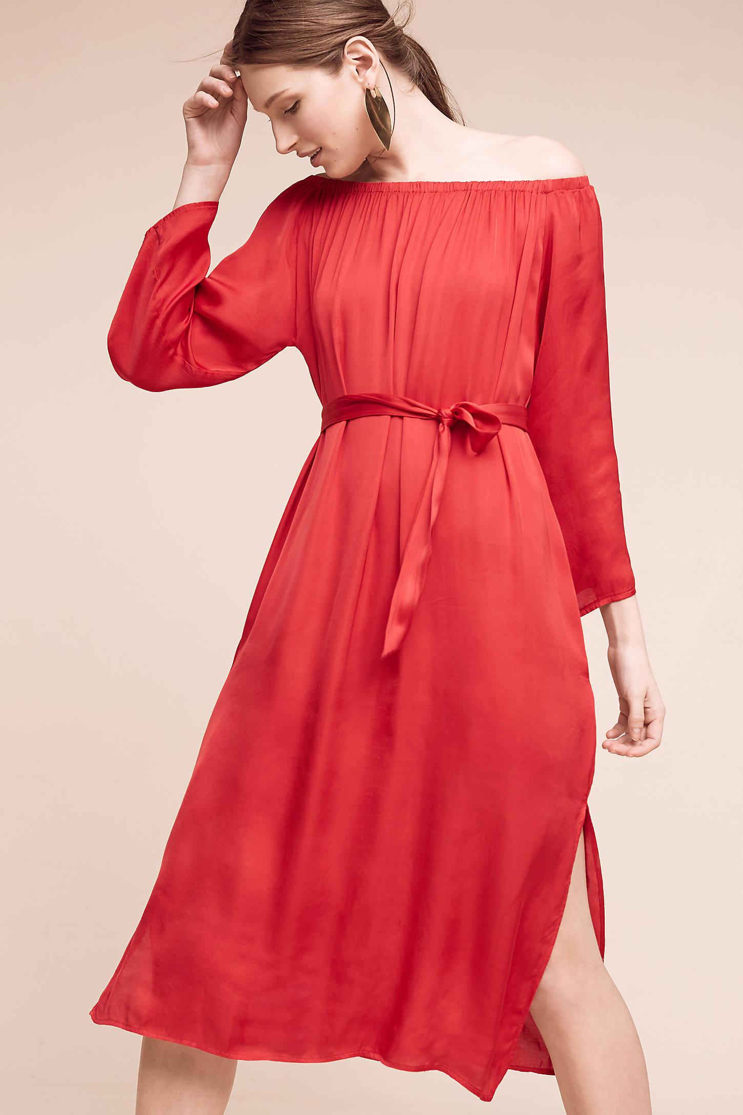 Veronique Off-The-Shoulder Dress