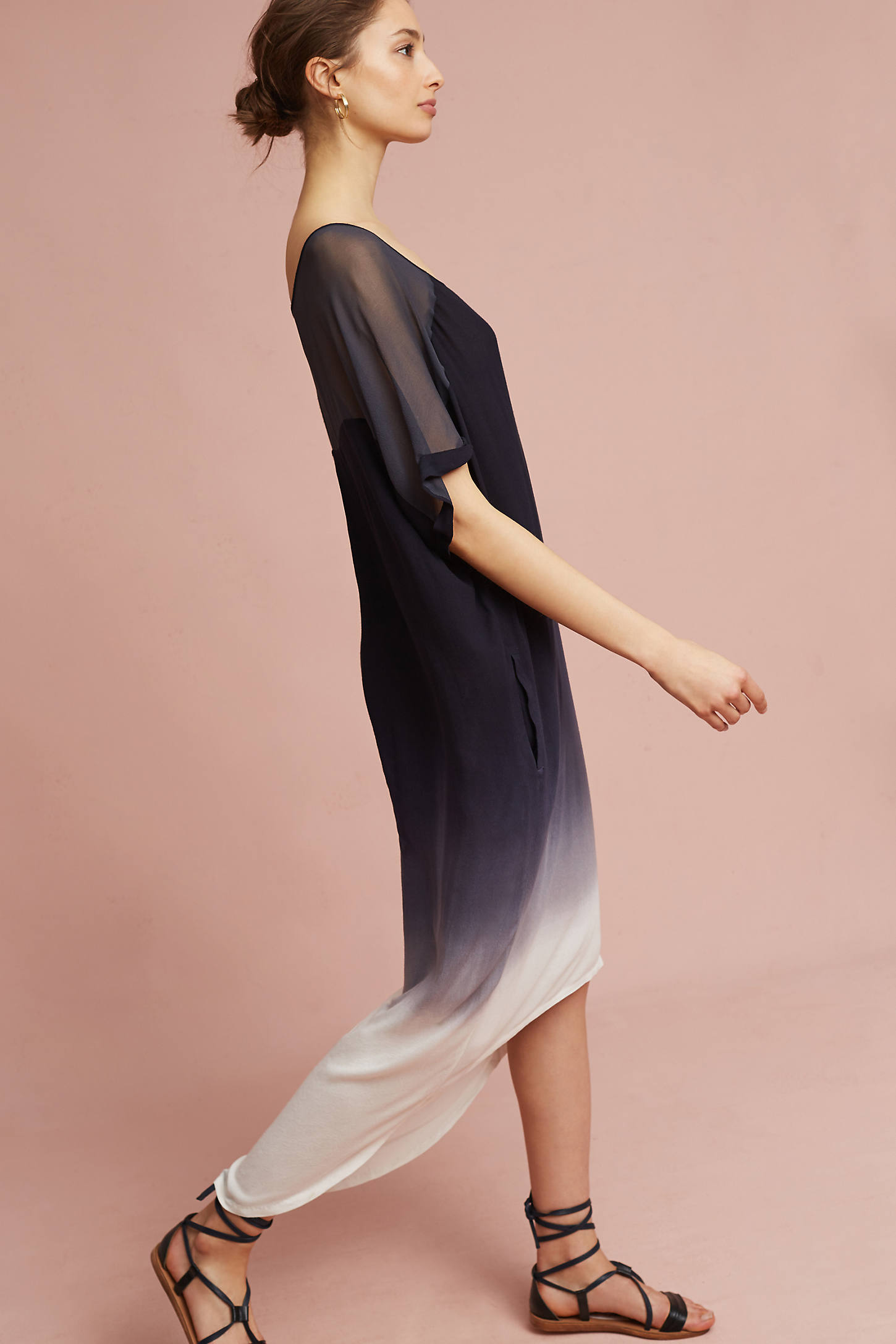 Ombre Dolman Dress