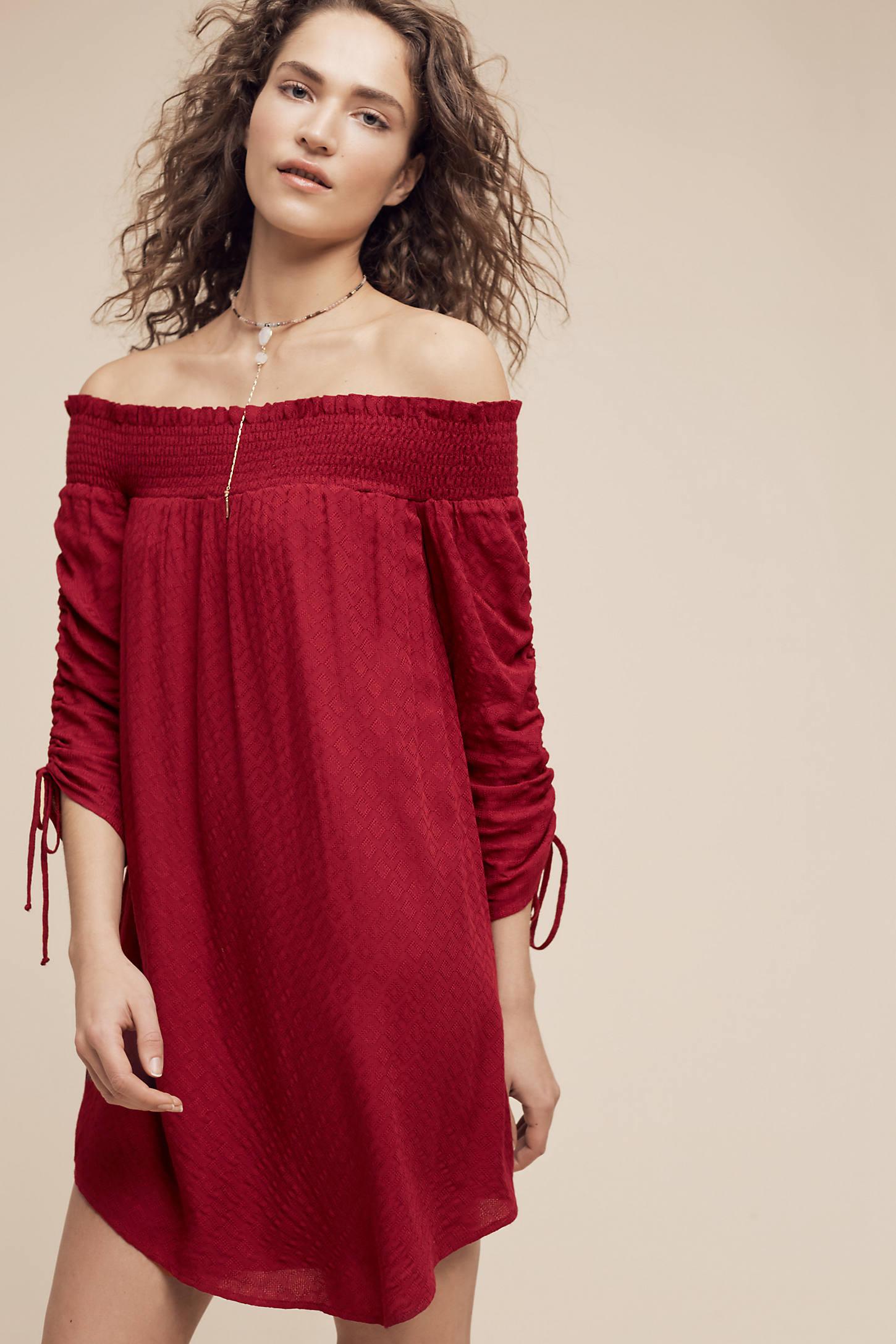 Vendredi Off-The-Shoulder Dress
