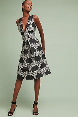 Slide View: 1: ML Monique Lhuillier Markle Midi Dress
