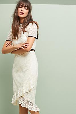 Slide View: 1: ML Monique Lhuillier Bowery Lace Dress