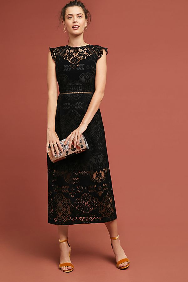 Ml Monique Lhuillier Ariadne Lace Dress