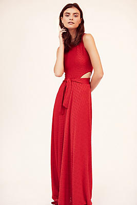 Slide View: 5: Cutout Maxi Dress