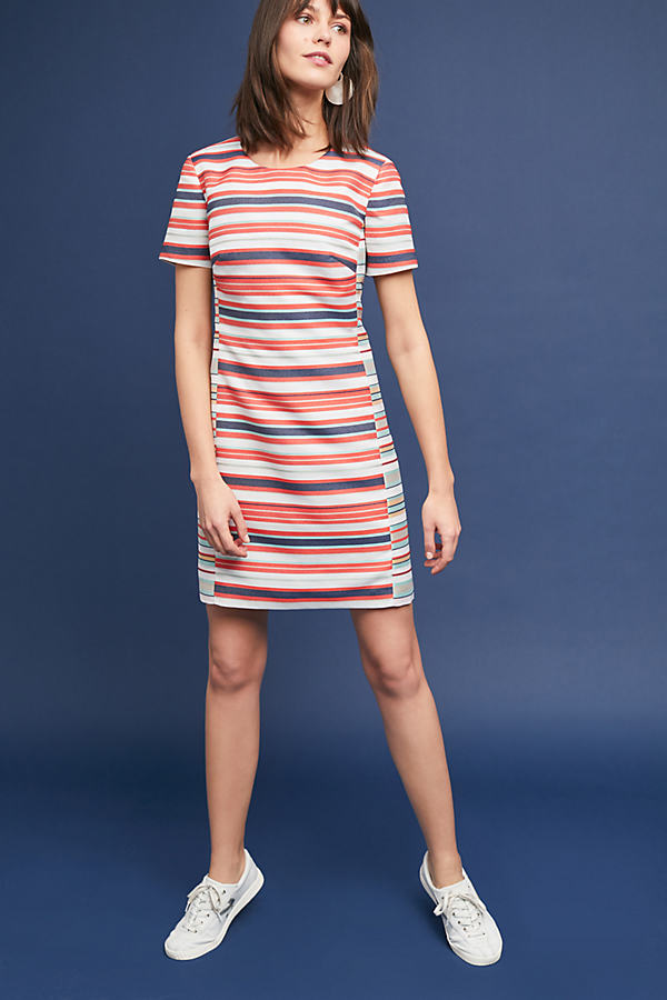 Lajla Multi-Striped Dress - A/s, Size Xl