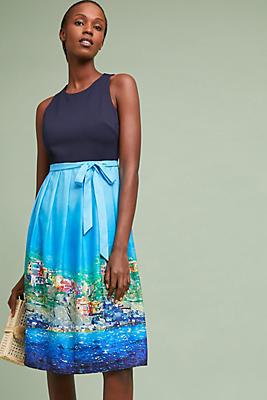 Slide View: 1: Positano Midi Dress