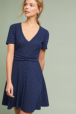 Slide View: 1: Lucia Striped Dress