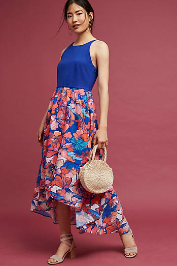 Isabella Floral High-Low Dress