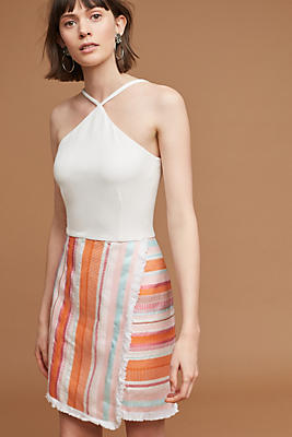 Slide View: 1: Kalyn Halter Dress