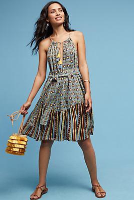 Slide View: 1: Sahana Flounced Dress