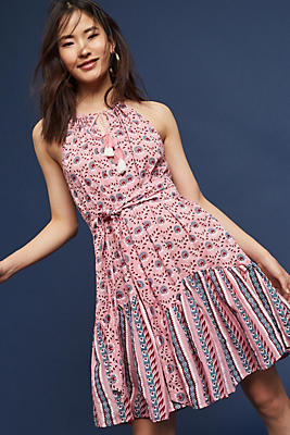 Slide View: 1: Himanie Flounced Dress