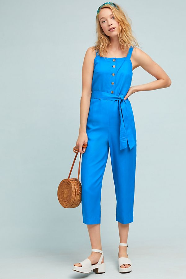 Slide View: 1: Peillon Apron Jumpsuit