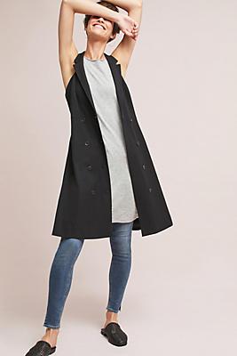 Slide View: 1: Double-Buttoned Blazer Dress