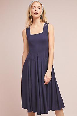 Slide View: 1: Emile Knit Midi Dress