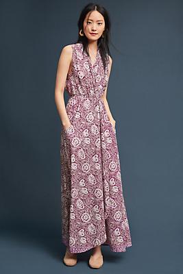 Slide View: 1: Natalie Martin Nico Sleeveless Maxi Dress