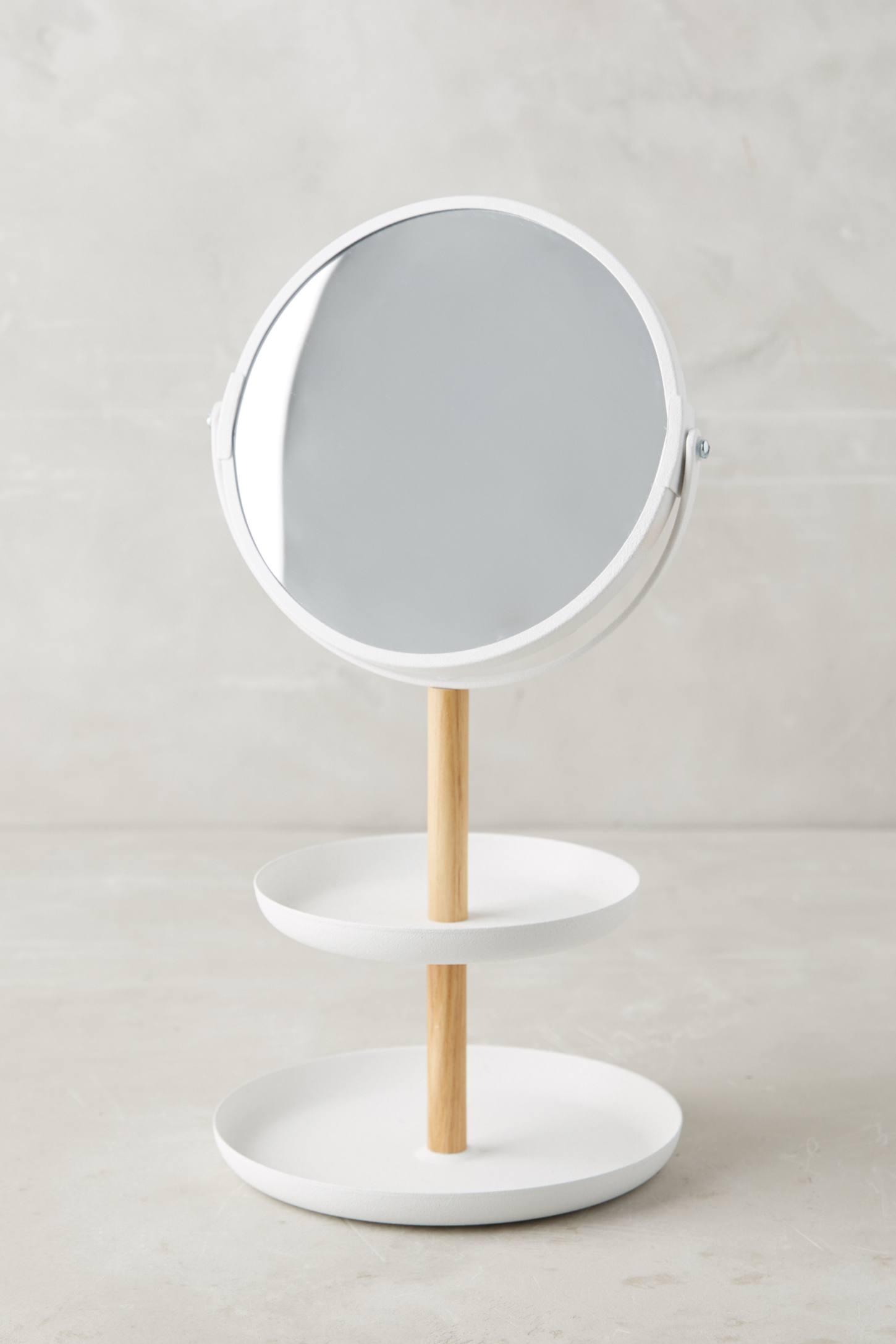 Tiered Vanity Mirror Anthropologie - Mirror on a stand vanity
