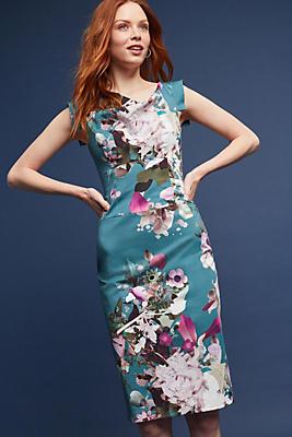 Slide View: 1: Larenna Floral Sheath Dress