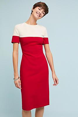 Slide View: 2: Colorblock Sheath Dress
