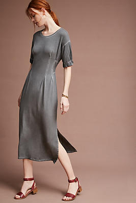Slide View: 2: Seamwork Midi Dress