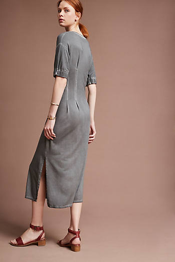 Seamwork Midi Dress