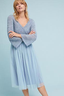 Slide View: 1: Layered Arabesque Dress