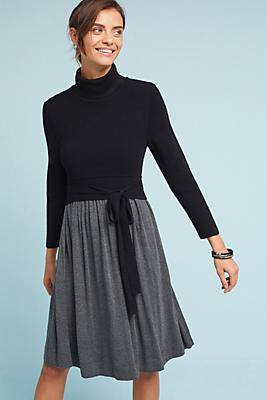 Slide View: 1: Ballet Knit Dress