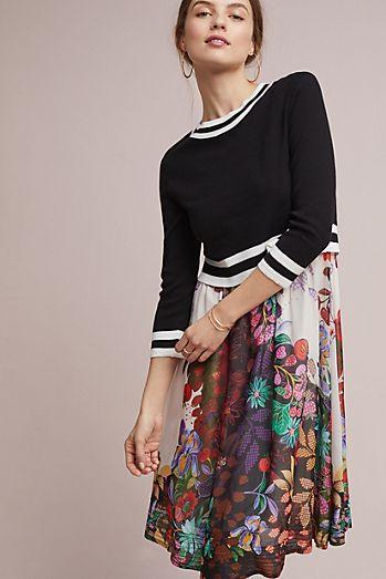 Purple And White Striped Sweater