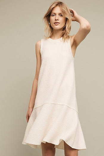 Wool Dropwaist Dress