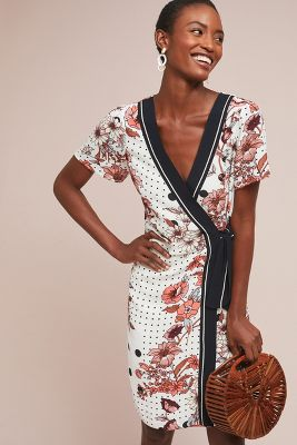 Aubrey Wrap Dress by Maeve