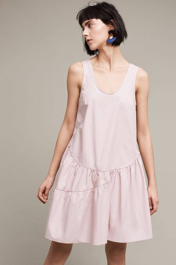 Holding Horses Blushed Poplin Swing Dress
