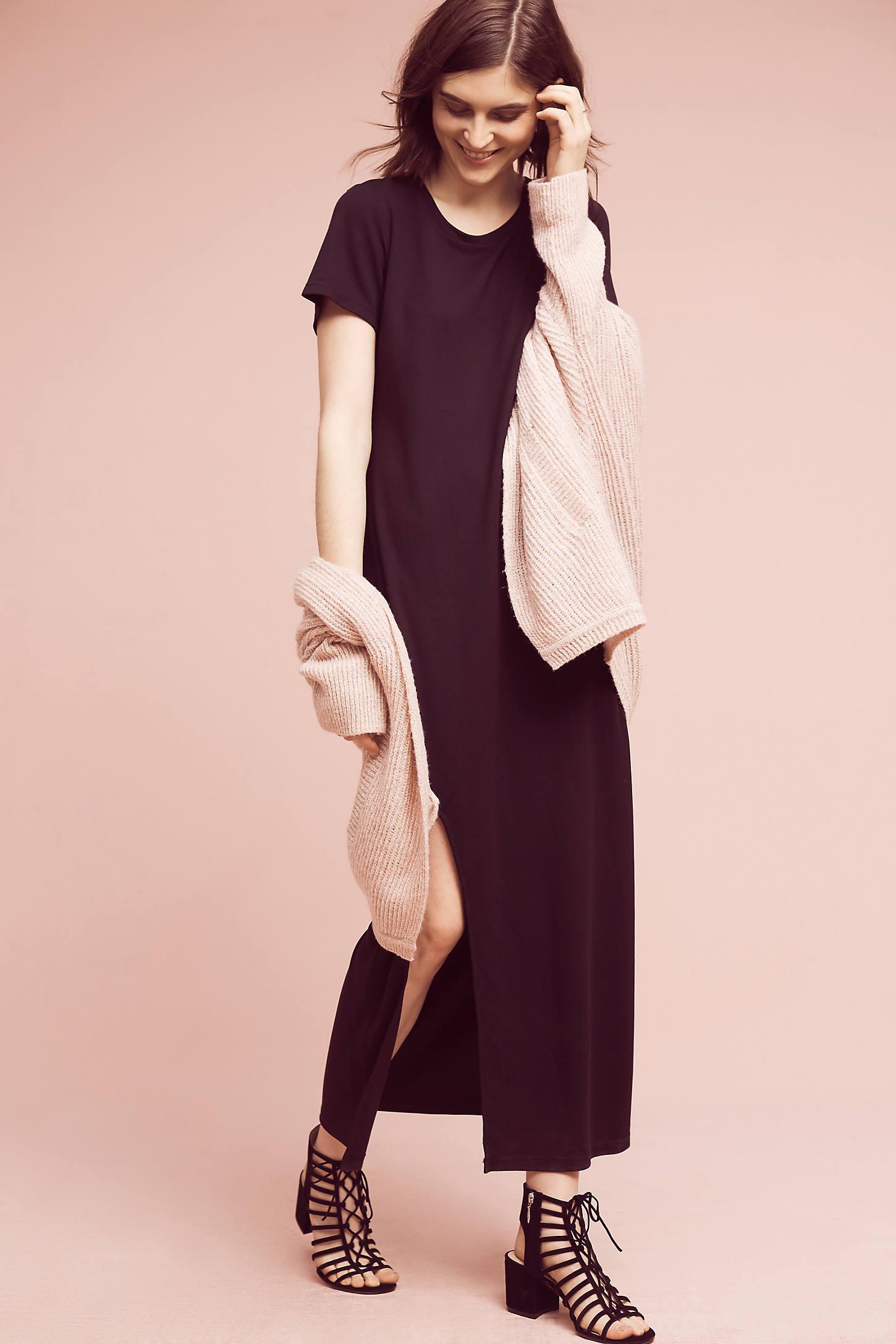 Moda T-Shirt Maxi Dress