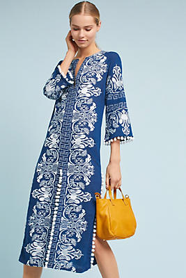 Slide View: 1: Izola Long Tunic Dress