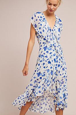 Slide View: 1: Vero Open-Shoulder Dress