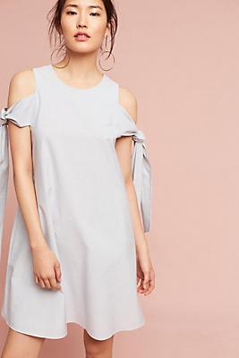 Slide View: 1: Rebekah Tie-Sleeve Dress