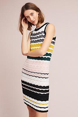 Slide View: 1: April Crocheted Dress