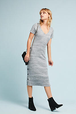 Ribbed Sweater Dress | Anthropologie