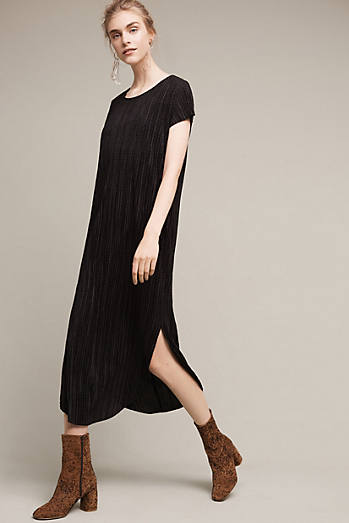 Textured Renaissance Midi Dress