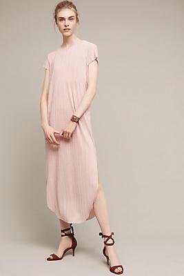 Slide View: 1: Textured Renaissance Midi Dress