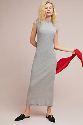 Slide View: 1: Dawn Mock-Neck Maxi Dress