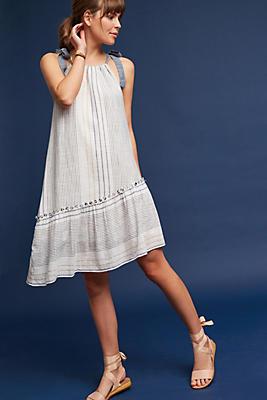 Slide View: 1: Yarn-Dyed Miller Dress