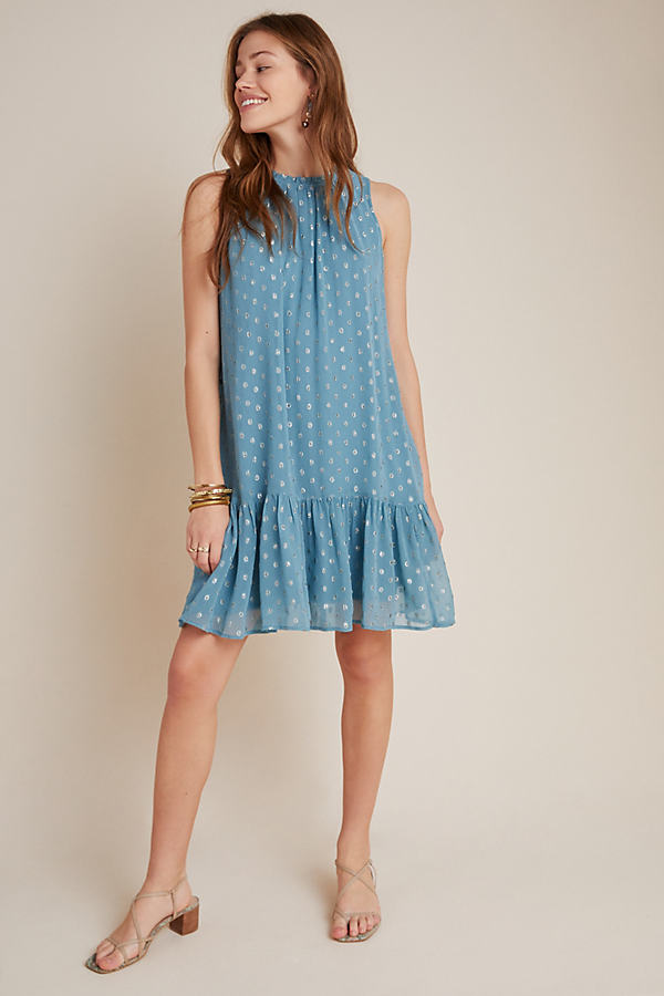 Natalie Flounced Tunic Dress