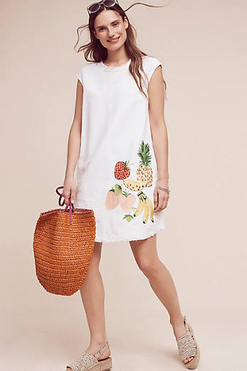 Fruit Salad Tunic Dress