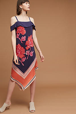 Slide View: 1: Tilda Silk Dress