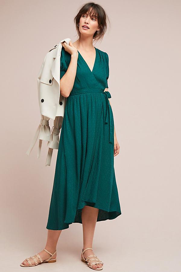 Breanna Wrap Dress - Green