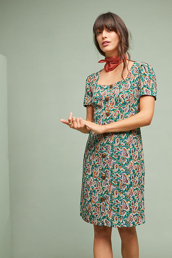 Seventies Shift Dress - Assorted, Size Uk 10