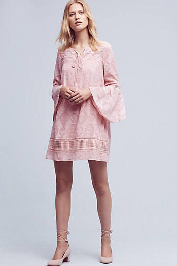 Esme Bell-Sleeve Dress